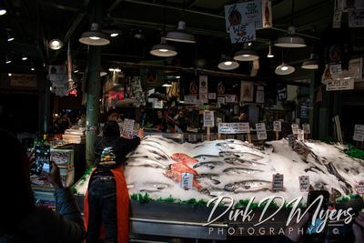 Pike's Fish Market in Seattle, Washington